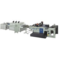 Feibao Auto Stop Cylinder Screen Printing Line