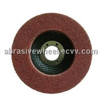 Fiber grinding wheel (depressed center type)