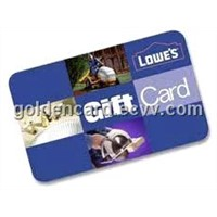 Free Design Plastic Gift Cards