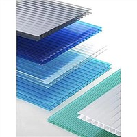 GE/Lexan Material Daylighting Polycarbonate Twin-wall Sheet