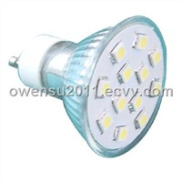 GU10 SMD LED light bulb