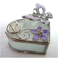 Glass Jewerly Box