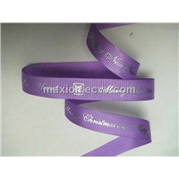 Grosgrain Ribbon with Hot Stamp Print