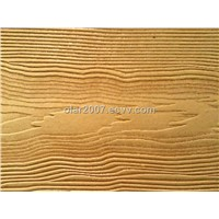 Guest-greeting pine grain decoration board - A