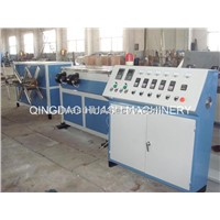 HDPE/PVC Single Wall Corrugated Pipe Extrusion Line