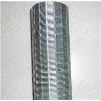 Hengyuan wedge wire filter pipe used for well drilling and oil filter