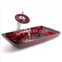 High Quality Bathroom Sinks Glass Basin/Color Glass Basin (J-B12)