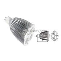 High Power LED Spot Lamp - 6W, MR16, E27, GU10