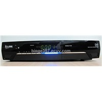 Iclass digital satellite receiver scart set top box with usb for pvr