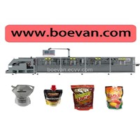 Juice Packing Machine with BHD-280DSC Packaging Machine