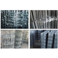 Knotted Wire Mesh Fences