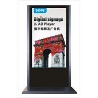 LCD Advertising Players,, available in 65 Inches, support single or network version