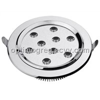LED Downlight Ceiling Light Fixture, 12W 10W 9W 7W, high power, efficient brightness
