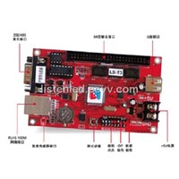 LED display asynchronous controller card LS-T3 with NET,USB,COM port communication