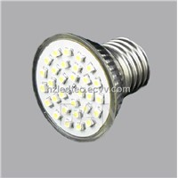 LED Spotlight - E27 30pcs SMD 3528 Glass Shell with Glass Cover CE, Rohs