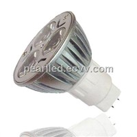 MR16 AC220V 3x1W LED Spot Lamp
