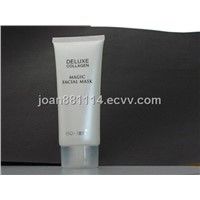Matt Varnish White Tubes for Cosmetics Packaging