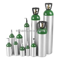 Medical Aluminum Alloy Oxygen Cylinders 1.4L-40L