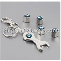 Metal BMW Tire Valve Cap Wrench Key Chain