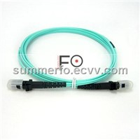 OM3 MTRJ-MTRJ fiber optic patch cord