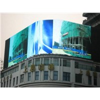 Outdoor LED Display for Curve Shape