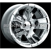 POLISHED alloy rims