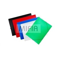 PP Translucent Elastic Document Folder