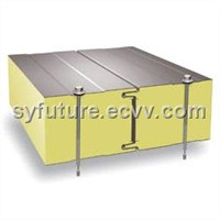 PU sandwich panel for wall & roof polyurethane panel