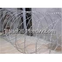 PVC coated Barbed Wire, Galvanized Barbed Wire, Razor Barbed Wire,, Galvanized Razor Barbed Wire