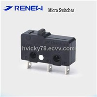 Pin plunger Type miniature  Micro Switch