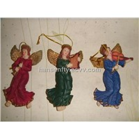 Resin Angels Christmas Hanging Ornaments Gifts
