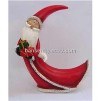 Resin Santa Christmas Hanging Ornaments Gifts