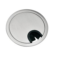 Round wire box/cable hole cap