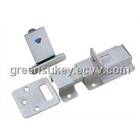 SS304 high security flush bolt  door hardware door accessory