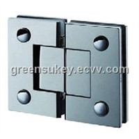 SS 304 glass door hinge  fittings
