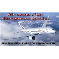 Shenzhen to dubai paint by air, oil air freight, magnet air freight battery air freight