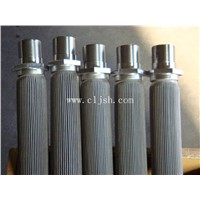 Sintered Pleated Filter Elements