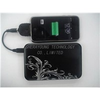 Smart Mobile Phone Solar Charger & Power Bank for 3g 3gs