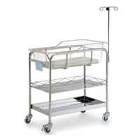 Stainless Steel Baby Bassinet (AC7348)