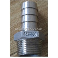Stainless Steel Pipe Fittings - Hose Nipples