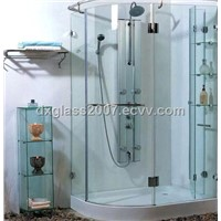 Tempered Glass of Bath Rack for Bathroom