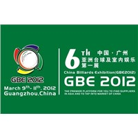 The 6th China Guangzhou International Billiards Exhibition (GBE2012)