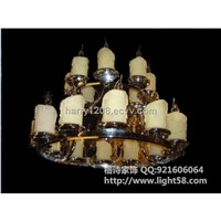 The chandelier lamp