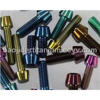 Titanium Bolt for Racing Motorcycles
