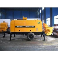 Trailer Concrete Pump - Diesel Engine