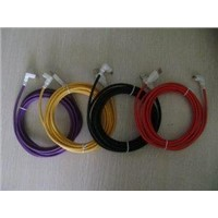 USB AM to right/left angle USB Mini 5PIN Cable;purple,yellow,black,red