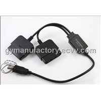 USB PS2 2 PLAYER CONVERTOR