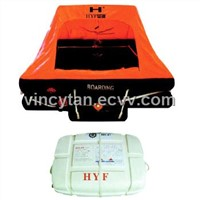 U type Throw-ower inflatable liferaft 1