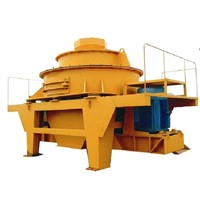 Vertical shaft sand-making machine