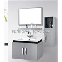 Wall Hung Stainless Bathroom Cabinet (SW-1134)